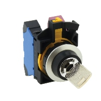 Key Switch 22MM 2-position